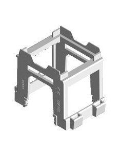 Adapter for 45x45 mm modules to electrical panels