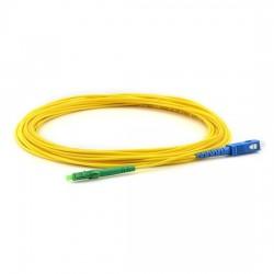 Оптична пач корда LC/APC-SC/UPC Сингъл мод 9/125 симплекс