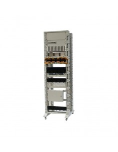 Double open rack frame 600, 800 and 1000 mm depth, AsRack
