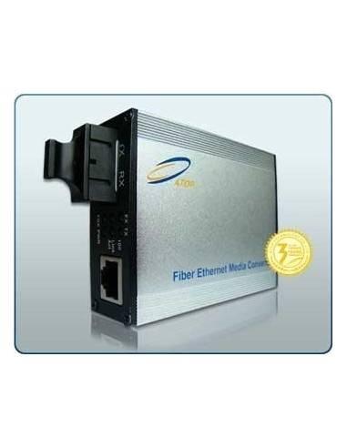 Media converter Single fiber TX: 1550 nm RX: 1310 nm, 10/100/1000M 30 km, Atop Atop technology - Китай - 1