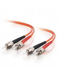 ST/UPC-ST/UPC Patch cable Multi mode 62.5/125 OM1, Duplex