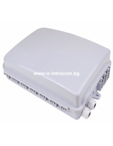 Оптична кутия за 24 SC адаптера