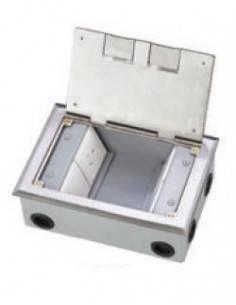 Подова кутия за 8 модула 22.5х45 мм