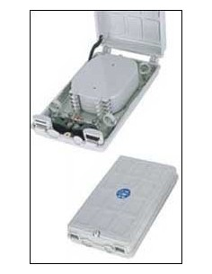 Fiber Optic Termination box, 265x153x55 mm, 24 fibers