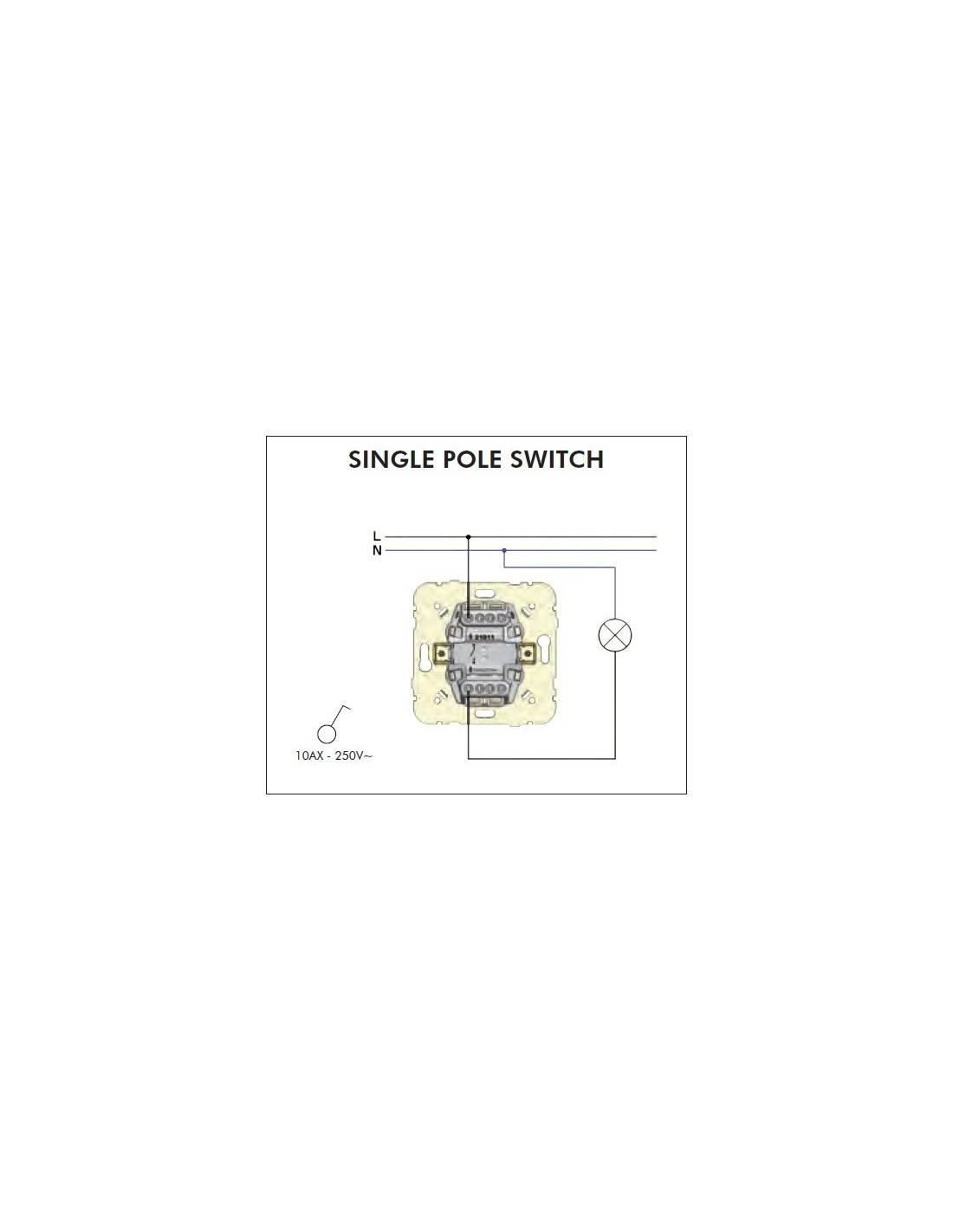 Single Pole Switch Instructions Switching Provides