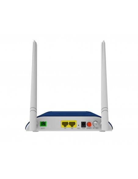 ONU за ПОН мрежи с безжичен рутер и RF изход за кабелна телевизия