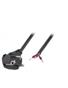Захранващ кабел Шуко 90° към Клема, 2.0 метра