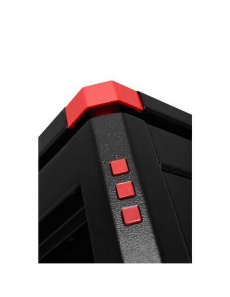 Комуникационен шкаф 600x600 мм, черен, стъклена врата, Elegant Pro GUNKO - 4