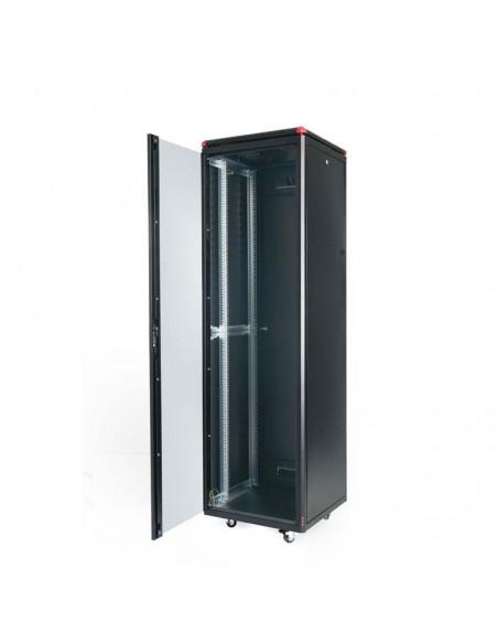 Network rack cabinet 600x600 mm, glass door, black, Elegant Pro GUNKO - 8