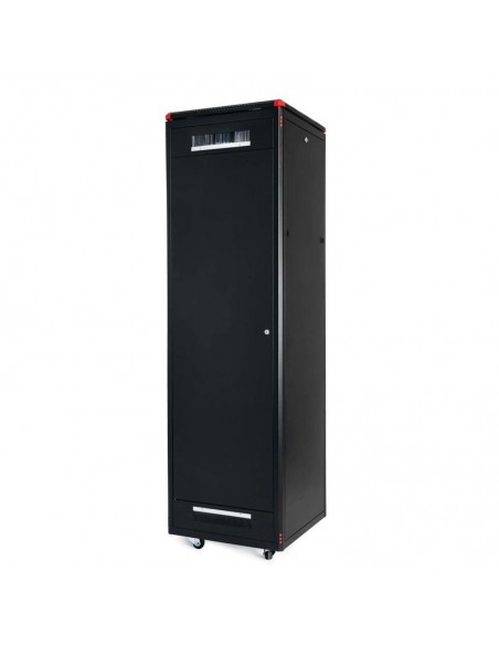 Комуникационен шкаф 600x600 мм, черен, стъклена врата, Elegant Pro GUNKO - 10