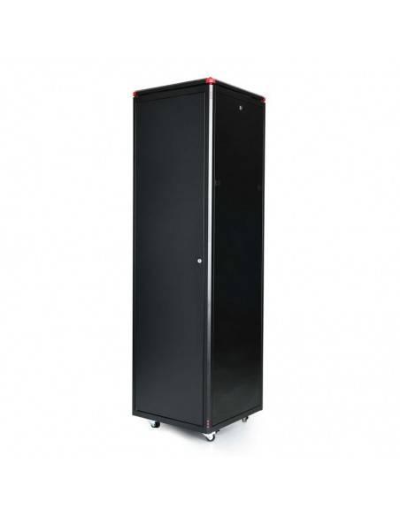 Network rack cabinet 600x600 mm, glass door, black, Elegant Pro GUNKO - 11