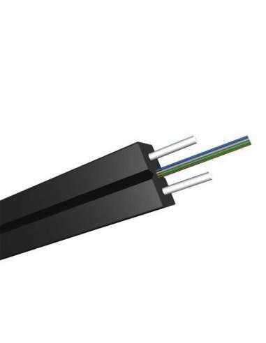 FTTH оптичен кабел 4xG652D армиран PVC - GJXH-2B1.3 MegaF - 1