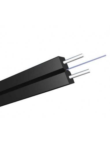 FTTH оптичен кабел 1xG657A 2xFRP, PVC обвивка GJXFH-1B6b MegaF - 1