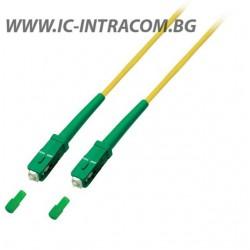 Оптични пач корди SC/APC - SC/APC сингъл мод, симплекс MegaF - 1