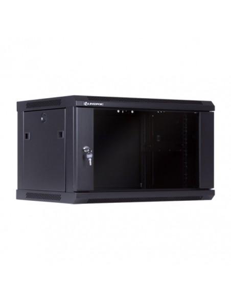 Стенен комуникационен шкаф 450 мм дълбочина, от 6 до 22U Linkbasic - 4