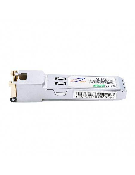 Медно SFP 10/100/1000 MB/s, 0.1 (UTP-5) km RJ45 Atop technology - Китай - 1