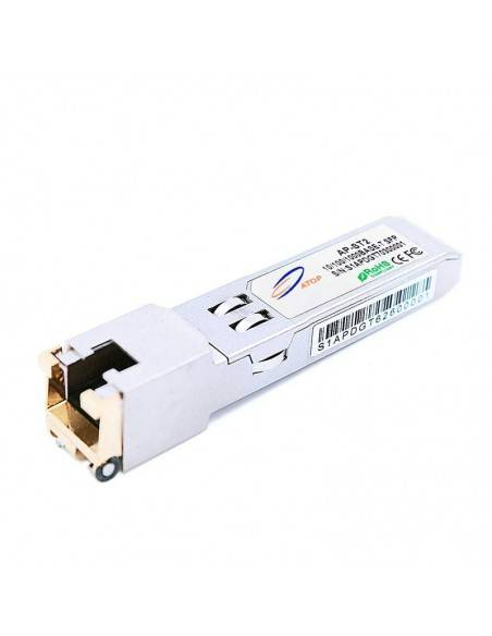 Медно SFP 10/100/1000 MB/s, 0.1 (UTP-5) km RJ45 Atop technology - Китай - 2