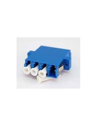 LC fiber optic adapter Quad SingleMode - Blue, Optronics MegaF - 1