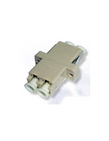 LC fiber optic adapter Duplex MultiMode - Beige, Optronics Atop technology - Китай - 1