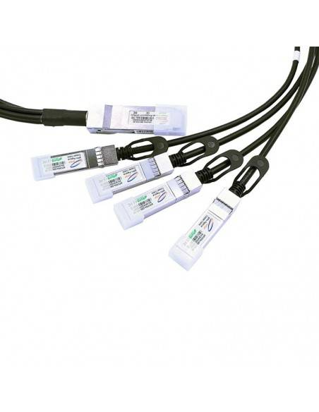 QSFP+ to 4 x SFP+ copper hybrid spitter cable, upto 5 meters Atop technology - Китай - 1