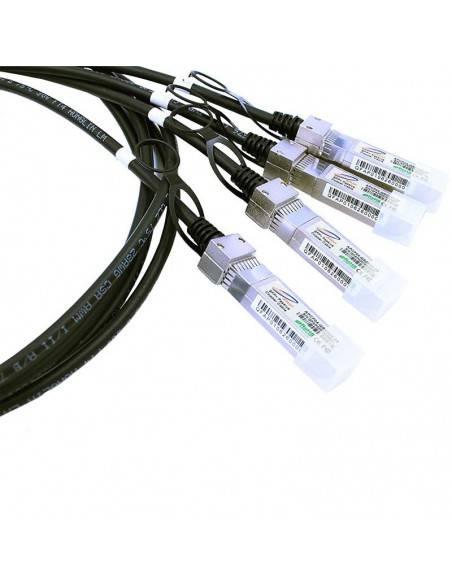 QSFP+ към 4 х SFP+ хибриден кабел до 5 метра Atop technology - Китай - 5