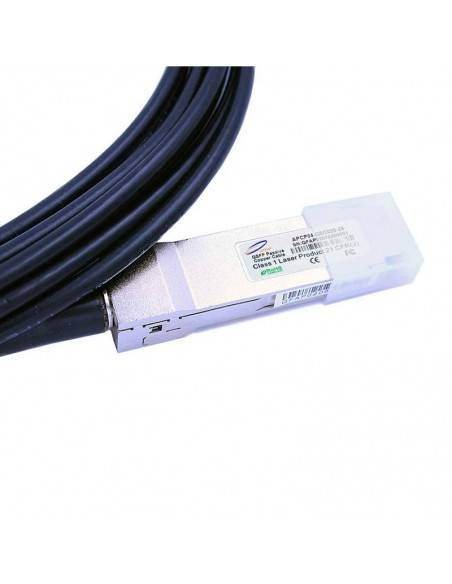 QSFP+ to 4 x SFP+ copper hybrid spitter cable, upto 5 meters Atop technology - Китай - 6