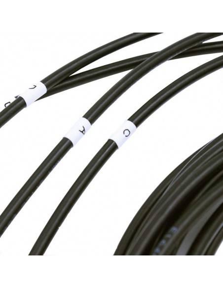 QSFP+ към 4 х SFP+ хибриден кабел до 5 метра Atop technology - Китай - 7