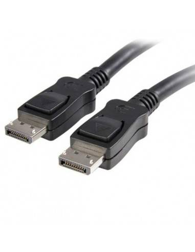 Display Port Cable, DP20 male - DP20 male, with locking Techly - 1