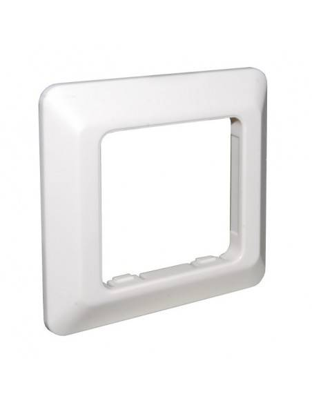 Wallplate for 3 modules RJ45, unloaded, white MegaD - 3
