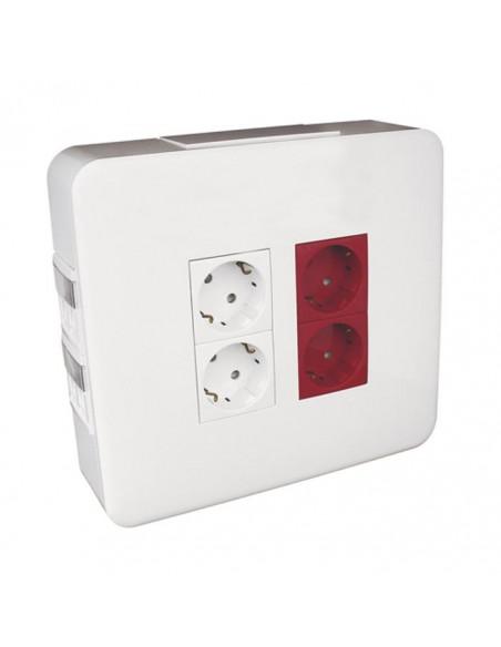 Стенна кутия за повърностен монтаж за 4+2 модула 45х45 EFAPEL - 2