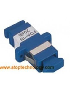 Fiber optic attenuator 5 dB, Single mode, SC Female - SC Female Simplex Adapter  MegaF - 1