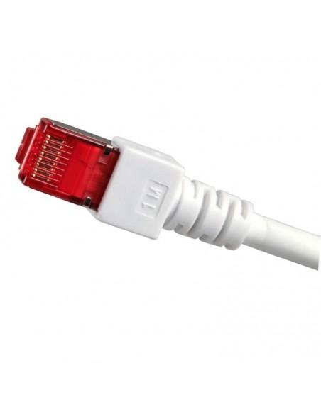 RJ45 Patch cable S/FTP, Cat.6, LSZH, white  - 4