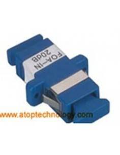 Fiber optic attenuator 3 dB, Single mode, SC Female - SC Female Simplex Adapter  MegaF - 1