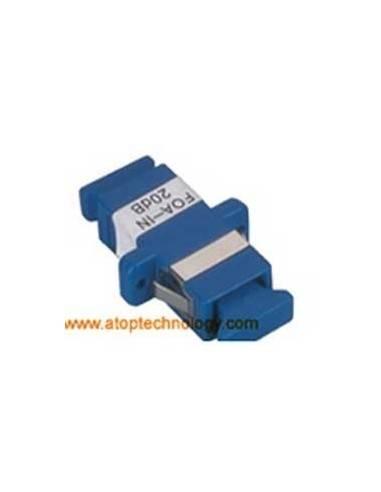 Fiber optic attenuator 1 dB, Single mode, SC Female - SC Female Simplex Adapter  MegaF - 1