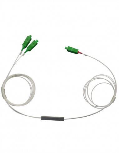 оптичен сплитер с sc apc конектори 1х2