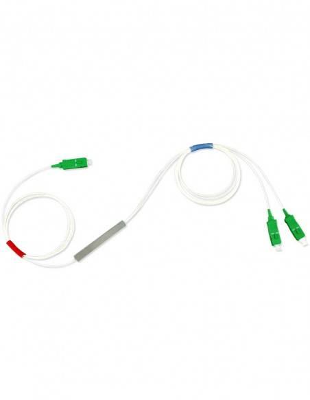 Оптичен PLC сплитер 1х2 с SC/APC конектори Blockless MegaF - 4