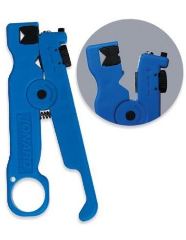 Инструмент за сваляне обвивката на кабели Jonard Industries Corp. - 1
