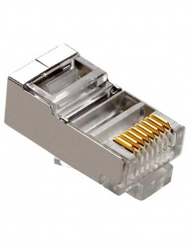 MegaC modular plug, CAT.5e, RJ45 STP MegaC - 1