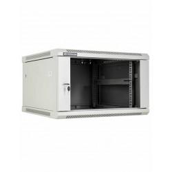 Wall mount cabinets, 600 mm depth, light grey Linkbasic - 1