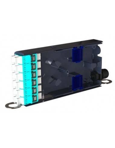 Fiber optic high density module, loaded with 6xSC duplex adapters FibreFab - Англия - 1