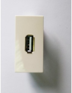 Faceplate 22.5x45 mm with 1...