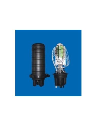 Оптична муфа за 48 влакна и 36 SC адаптера MegaF - 1